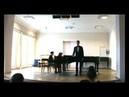 Виталий Савельв третий романс Демона из оперы Рубинштейна Демон