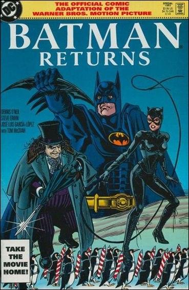 Batman Returns Comics