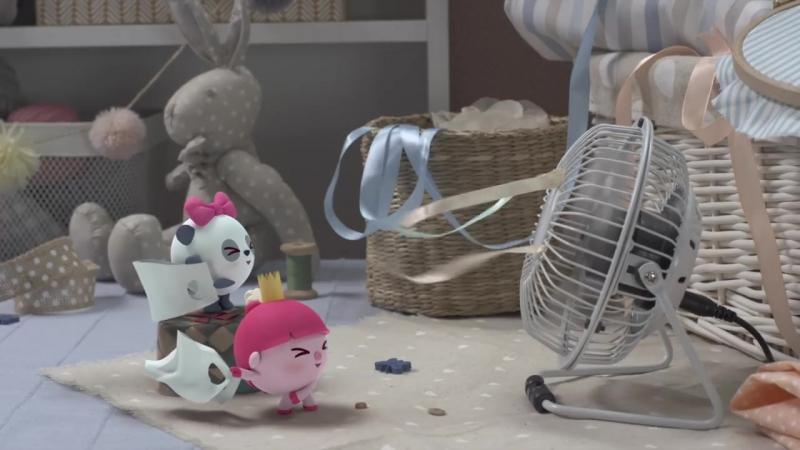 Малышарики - Разбойница (Новая серия 105) Мультики для самых маленьких (1)