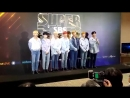 [SBS SUPER CONCERT] BTS' greeting at the photo wall earlier on