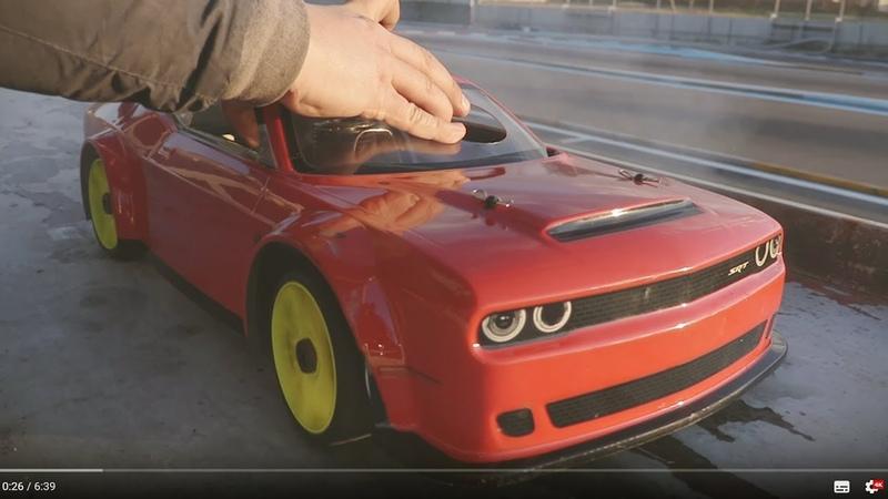 KYOSHO INFERNO GT2 RS DODGE CHALLENGER SRT DEMON 18 On road Nitro RC car