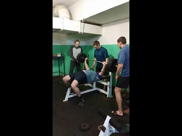 2019-02-18 Иван Каширин Жим лежа 145кг софт