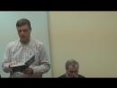 18.12.2017 №4 - Пророчество Иеремии, гл.35. Барсуков В.В. Библейские Рехавитовы  трезвенники.