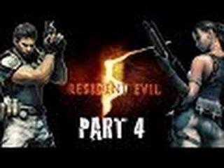 Прохождение Resident Evil 5 ( серия 4, Охота за Ирвином и большая птичка ).