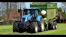 Ackergras Ernte 2016 New Holland T7 250 Krone MX 350GD HD DJI