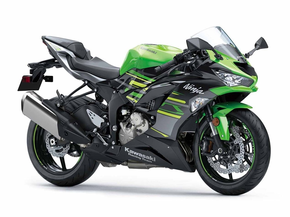 Суперспорт Kawasaki Ninja ZX-6R 2019