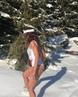 """Ольга Бузова on Instagram: """"Всегда мечтала о такой фотографии в снегу, но что то пошло не так 😂😂😂 Впрочем, как всегда 😂🤦🏻♀️ Всем доброе утро ☃️❄️ ..."""
