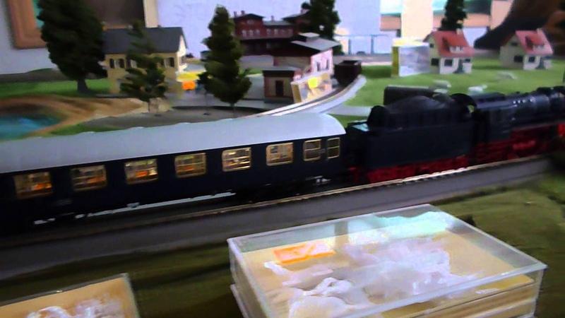 Макет железной дороги 1:87
