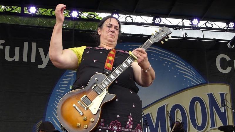 Joanna Connor Walkin' Blues 6 2 18 Western MD Blues Festival Hagerstown MD