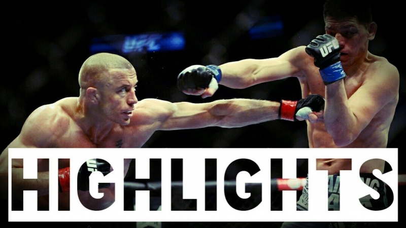 Georges St. Pierre vs. Nick Diaz ● Fight Highlights ● HD