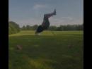 Guy Does Backflip Before Hitting Golf Ball - 993729