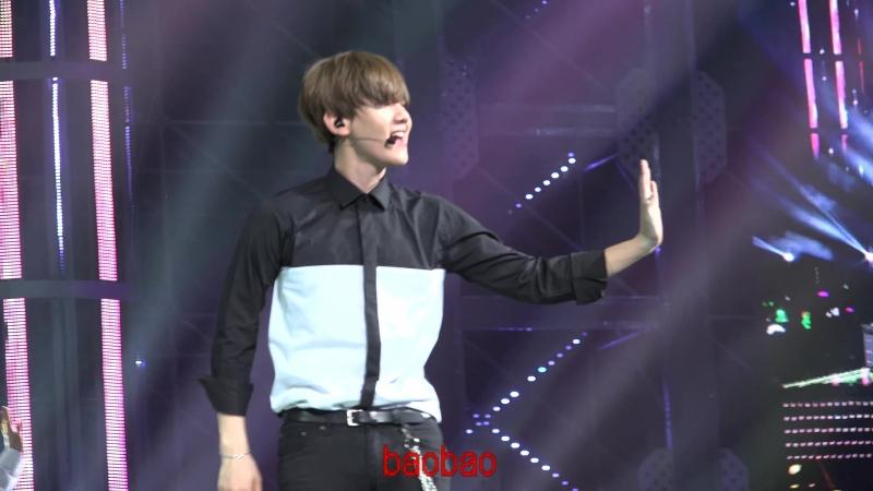 150530 The EXO'luXion 나비소녀 백현 baekhyun Dont Go -2