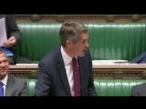 Siri Interrupts Gavin Williamson in Parliament
