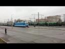 20 03 2017 Прибытие спецпоезда ЛДПР в г Рязань