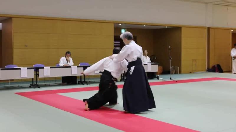 Показательные выступления сенсея Татцунори Имамуры, 7 дан Айкикай (куратор нашей ассоциации)