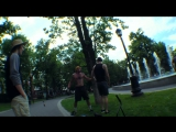 Пешеход против велосипедиста в центре Краснодара