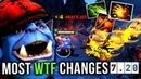 Most WTF and OP 7.20 Update Changes - Dota 2