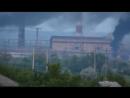 Николаевка 5 июля 2014 Артобстрел Славянской ТЭС