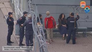 Рисовавшие на стенах вандалы, задержаны благодаря «Безопасному городу»