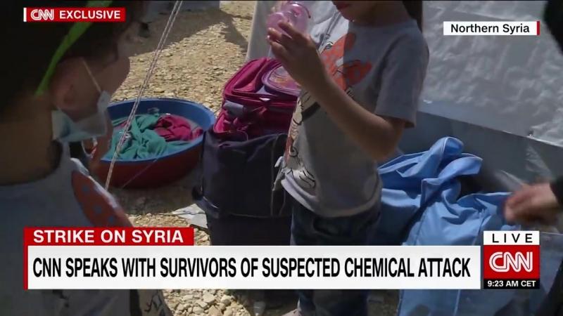 Συρία γελοία παραπληροφόρηση και καραγκιοζιλίκια από το CNN