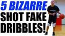 5 UNUSUAL Shot Fake Dribbles That BREAK ANKLES!