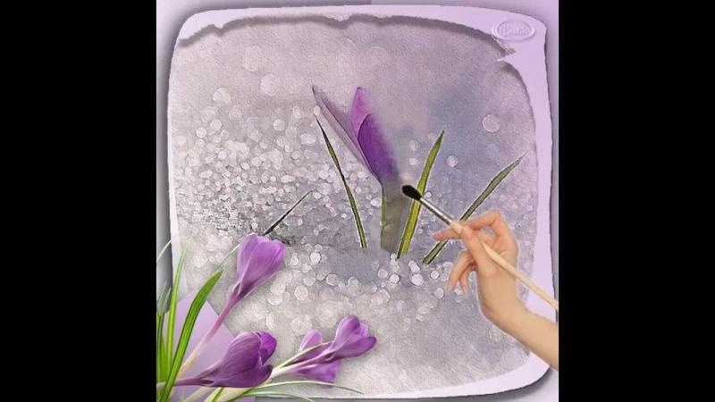 И пусть на лужах лед ,пока еще зима, а видятся цветы , а слышится весна. И теплое пальто , ты снять уже готов...Так хочется весн