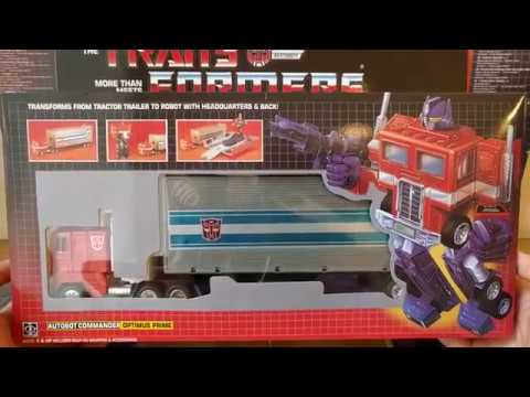 Takara Optimus Prime G1 Переиздание KO