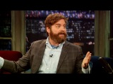 Zach Galifianakis Promotes Hitchhiking