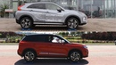 Mitsubishi Eclipse Cross S-AWC vs Suzuki Vitara S All Grip Select - 4x4 test on rollers