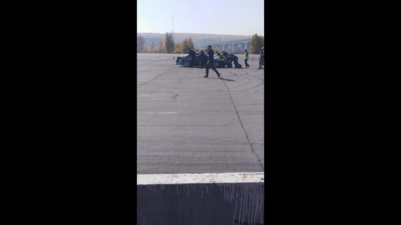 Дрифт 2018 Иркутск Читинца транспортируют с трассы
