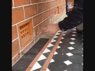 Идеальная кладка плитки