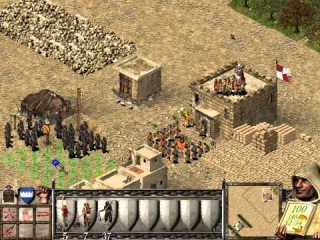 Видео прохождение игры Stronghold Crusader (дополнительная миссия часть 2)