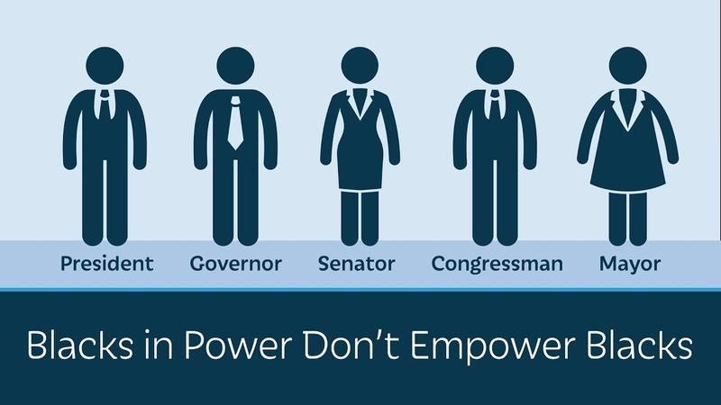 Blacks in Power Dont Empower Blacks
