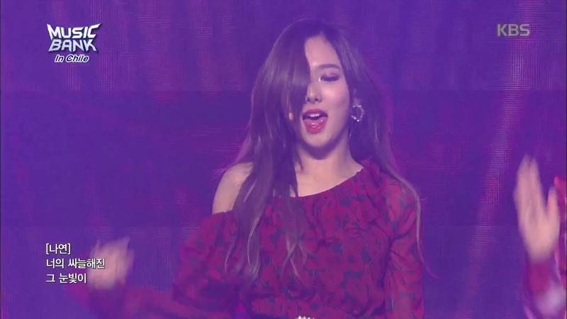 뮤직뱅크 Music Bank in chile 가시나 - Twice(나연, 모모, 미나, 채영) 20180411
