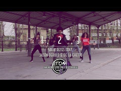 1 2 3 sofia reyes ft.Jason Derulo De La Ghetto  Martin Mitchel (Choreography) zumba