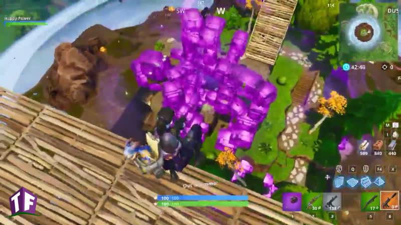Куб внутри острова.