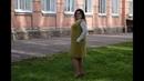 Как связать простое платье сарафан спицами сверху вниз Пряжа Sofair