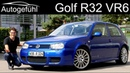 6 cylinder, no Turbo! The VW Golf R32 FULL REVIEW - Volkswagen Golf Mk4 - Autogefühl