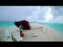 тропический ливень на необитаемом острове