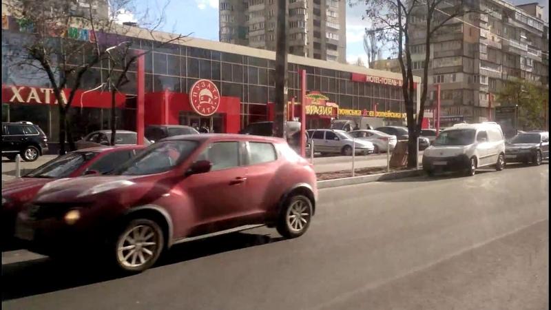 Автобус №108 Bus №108 Вул Митрополита Андрея Шептицького Ст м Харківська