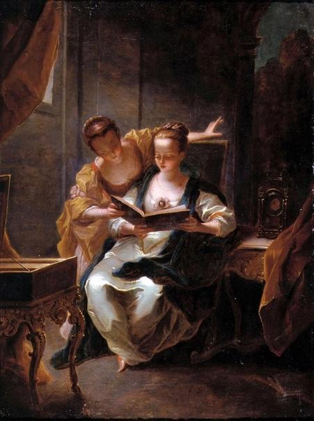 Имя замечательного французского художника Жана Рау накрепко привязано к стилю рококо
