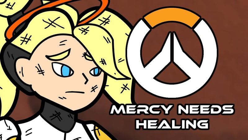 Mercy Needs Healing - Overwatch Parody