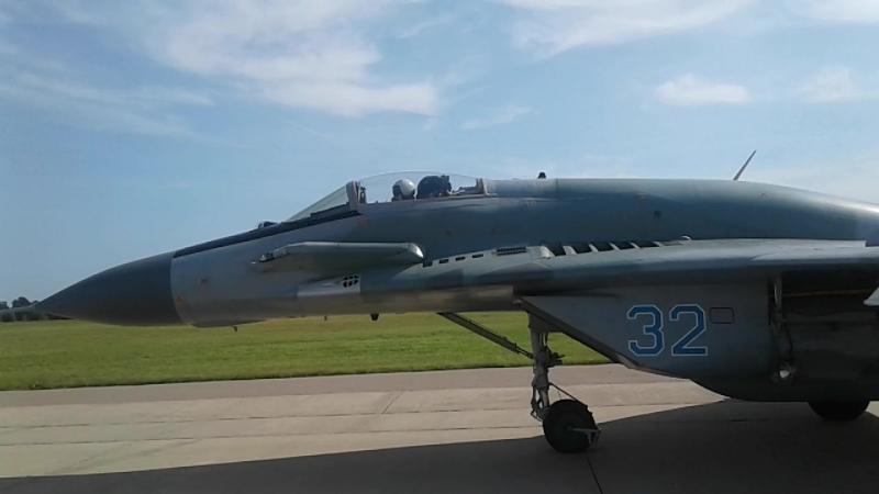 ФОРУМ АРМИЯ 2018 МИГ-29СМТ и СУ-35С АЭРОДРОМ КУБИНКА 26.08.2018