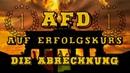 AfD setzt Erfolgskurs fort, SPD und CDU im Sturzflug - die Abrechnung