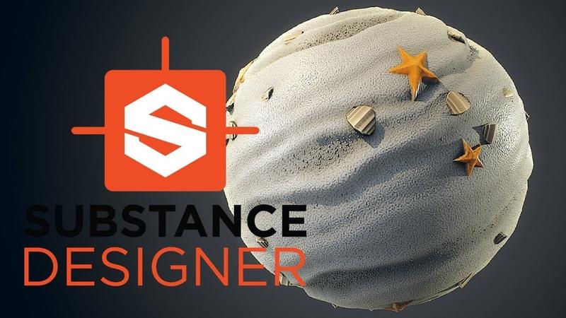 Substance Designer - Stylized Sand Material