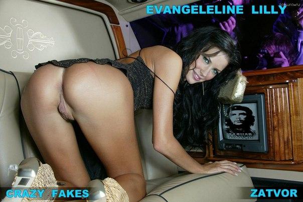 Порно фото эванджелин лилли