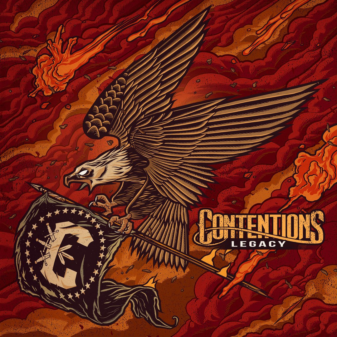 Contentions - Legacy [EP] (2016)