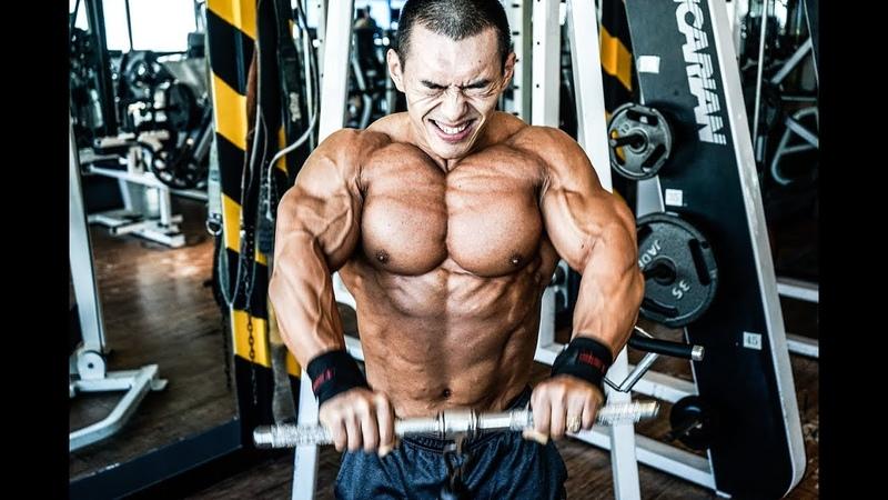 [개근질닷컴] 보디빌딩 세계챔피언 김성환 어깨운동 / Bodybuilding World Champion Kim Seong Hwan shoulder workout