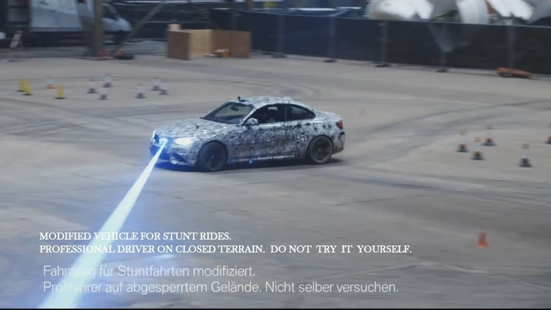 BMW M2 Competition Record try Backstage