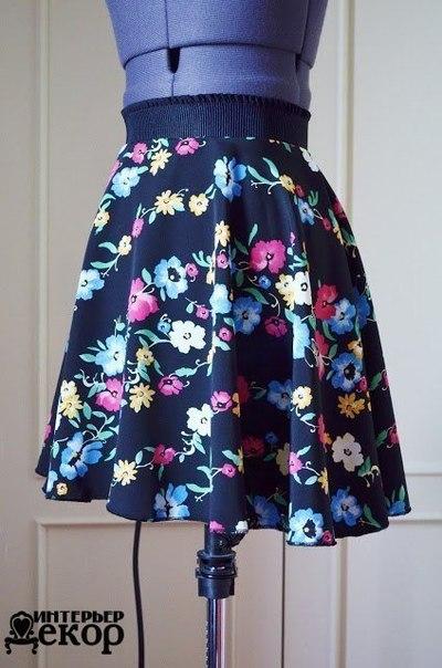 Шьем юбку своими руками (8 фото) - картинка